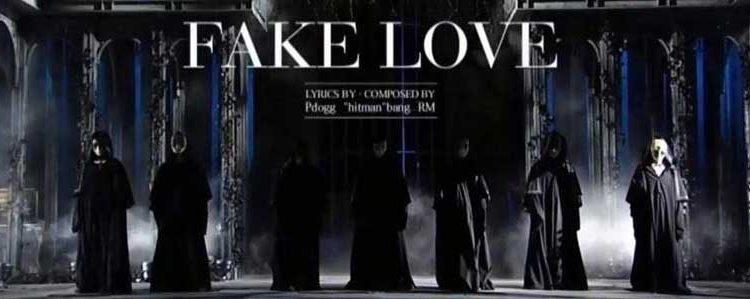 foto bts fake love